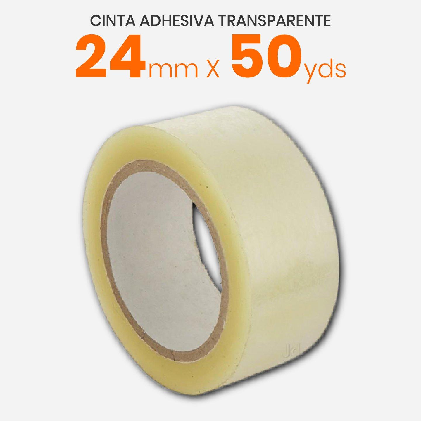 Cinta Adhesiva Transparente 24mm x 50yds