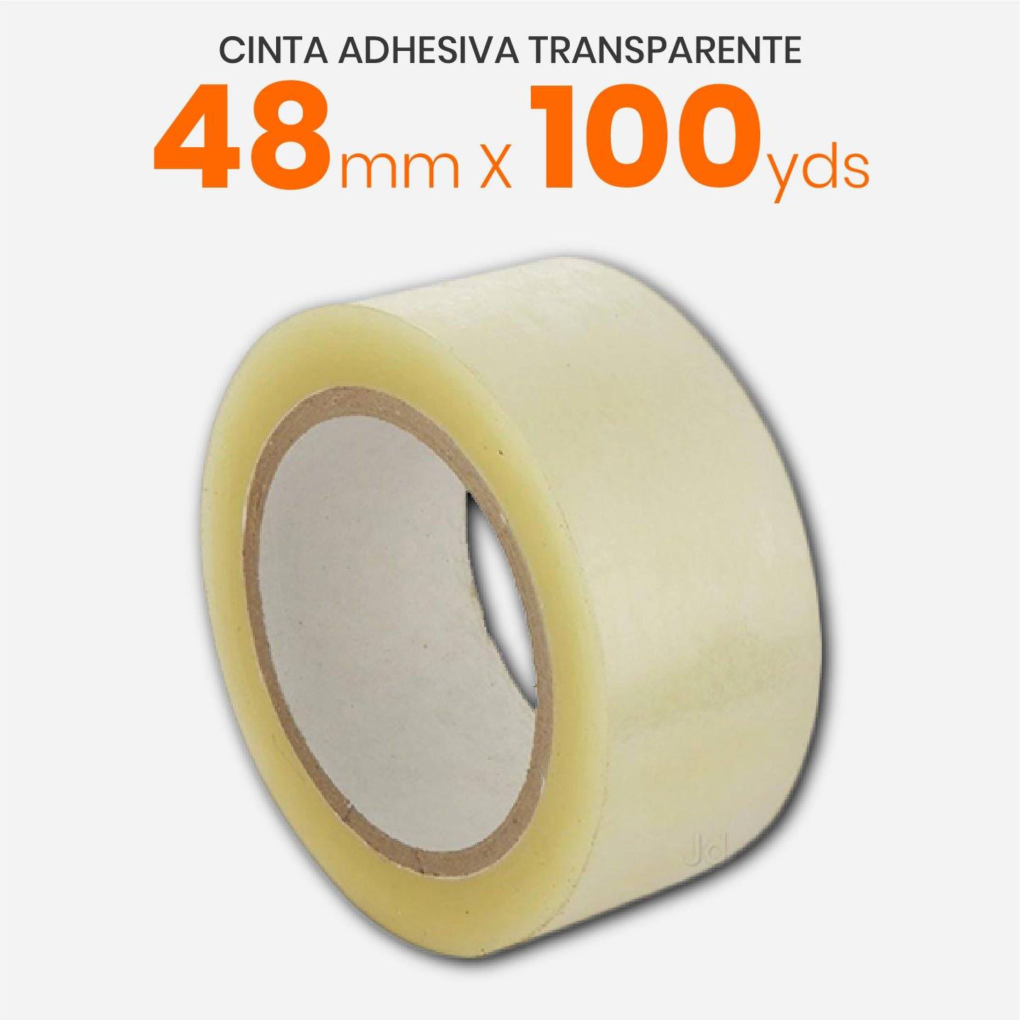 Cinta Adhesiva Transparente 48mm x 100yds