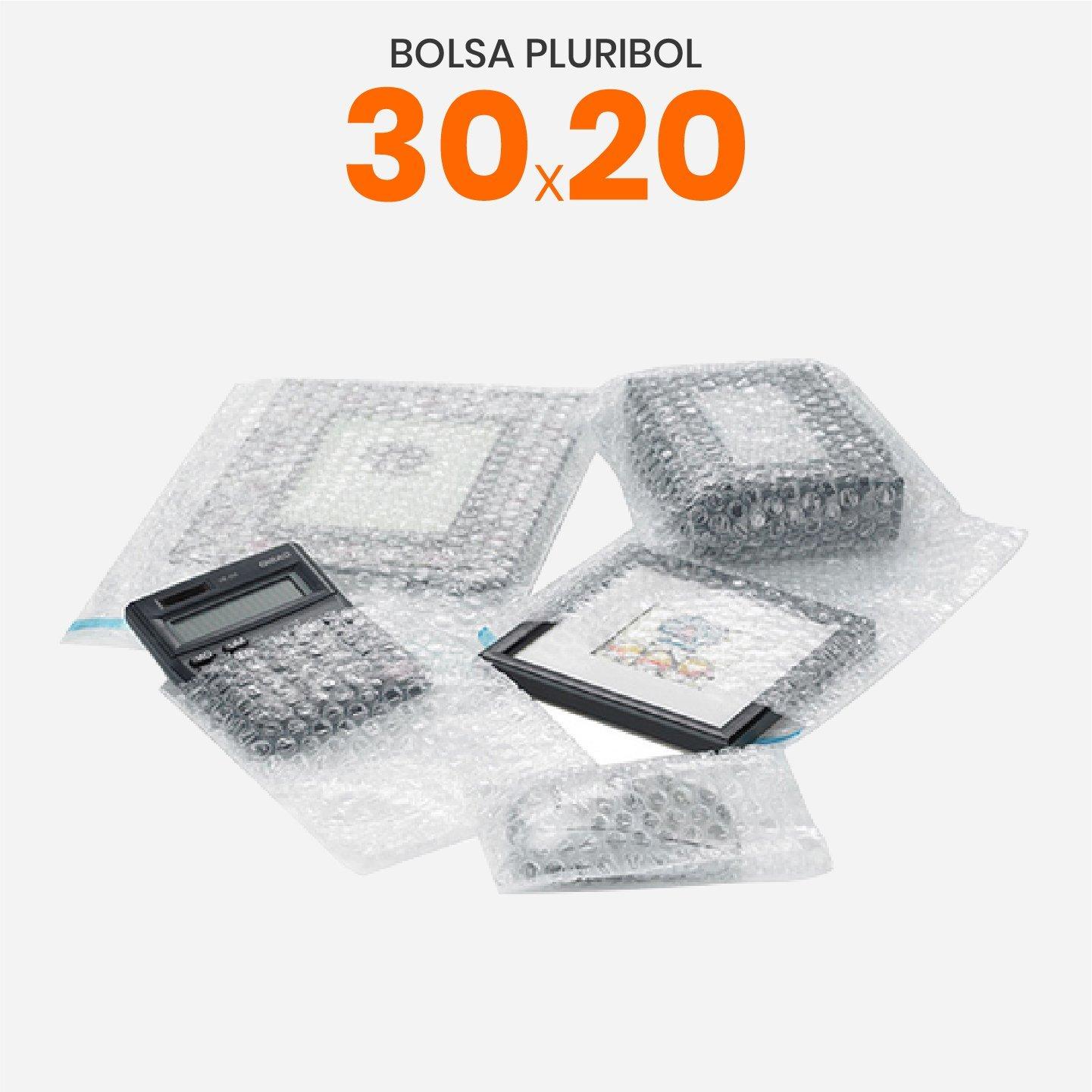 Bolsa pluribol polietileno 30X20