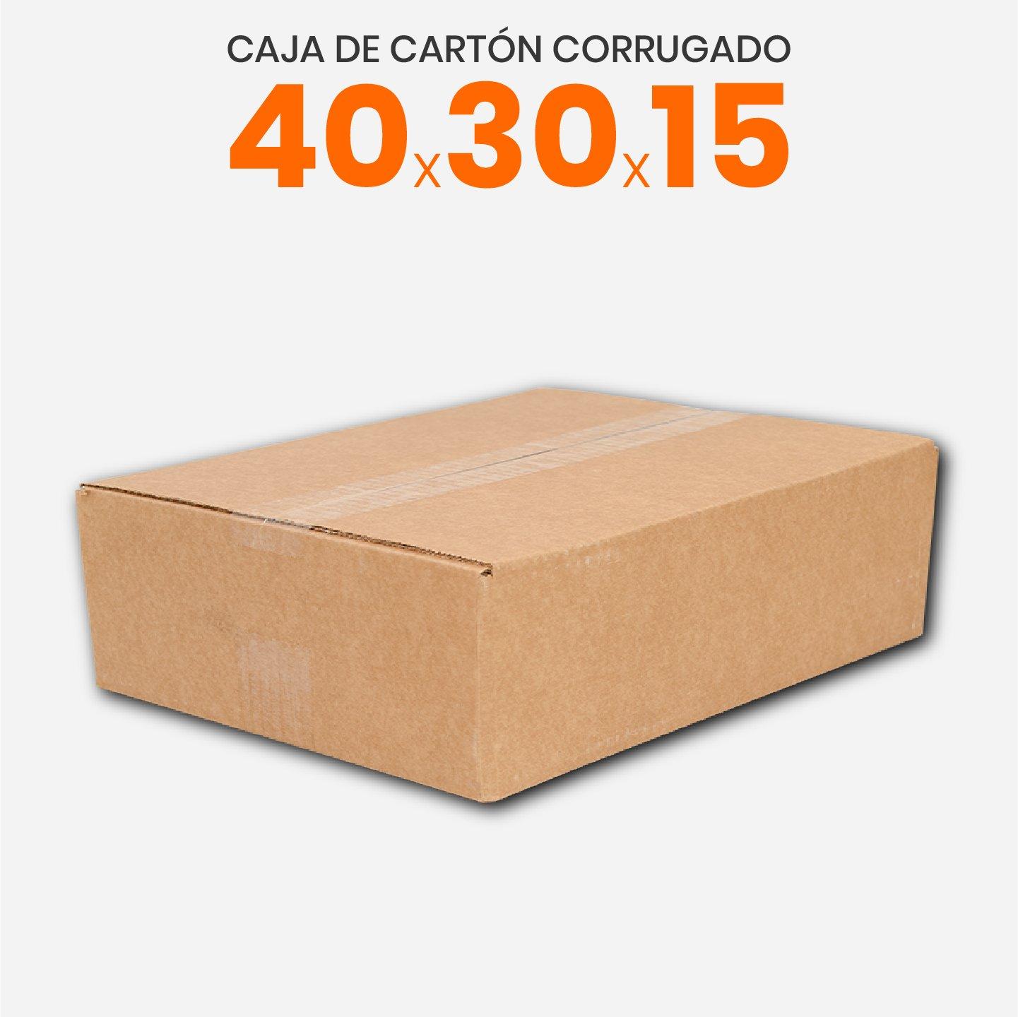 Caja De Cartón Corrugado 40x30x15