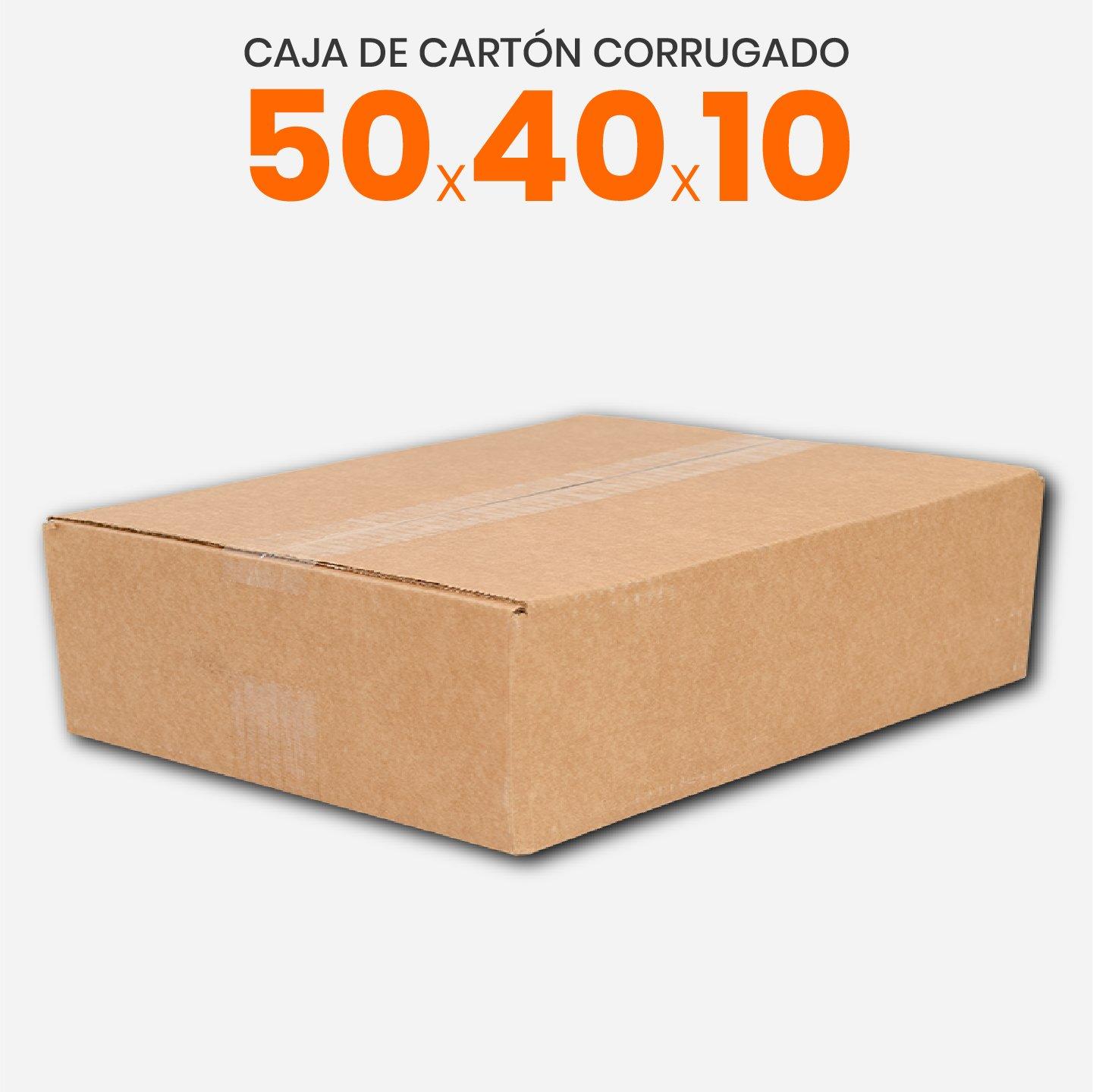 Caja De Cartón Corrugado 50x40x10