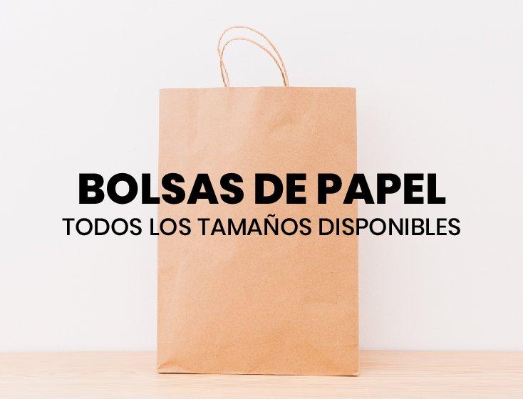 BOLSAS DE PAPEL MADERA