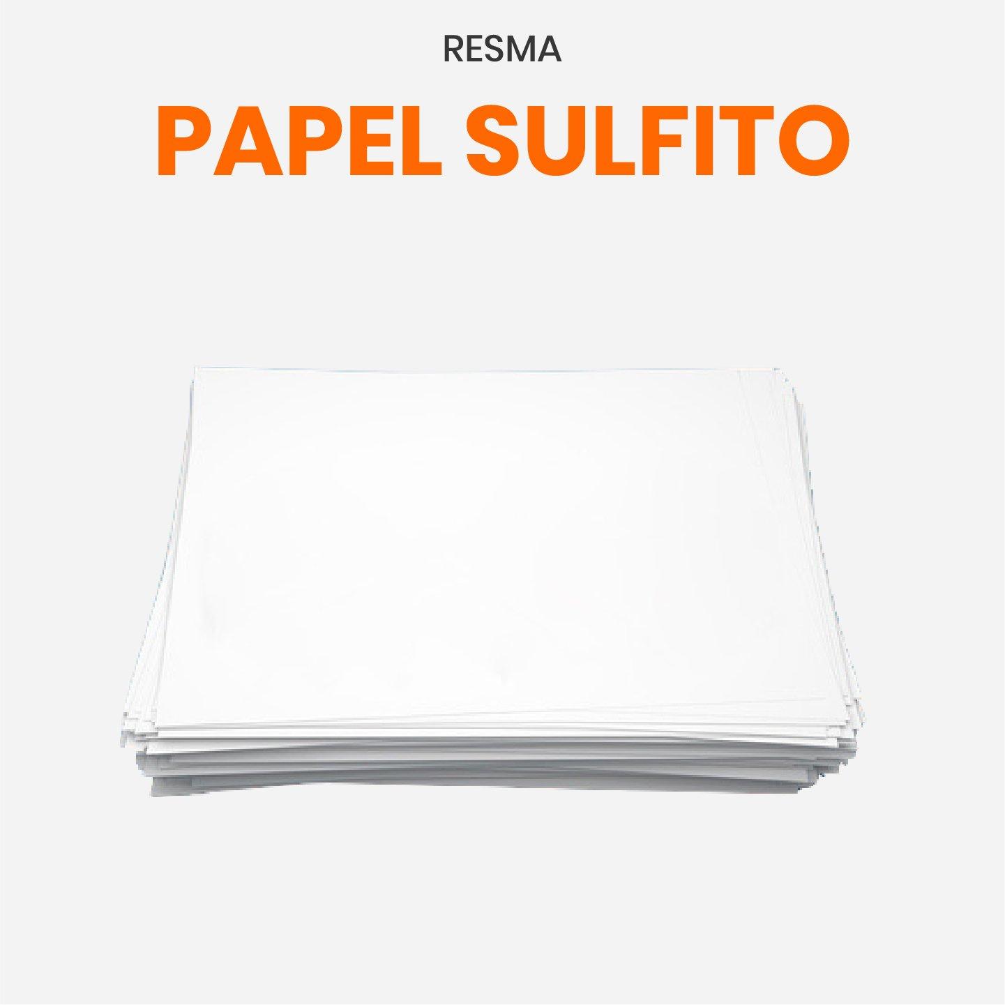 Resma de papel sulfito 10 kg
