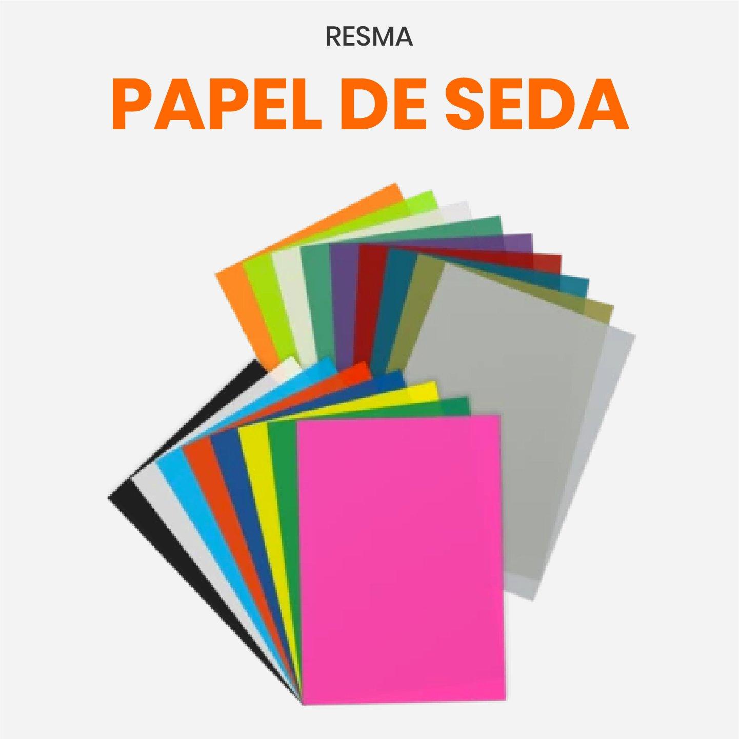 Resma de Papel Seda Color 50x70