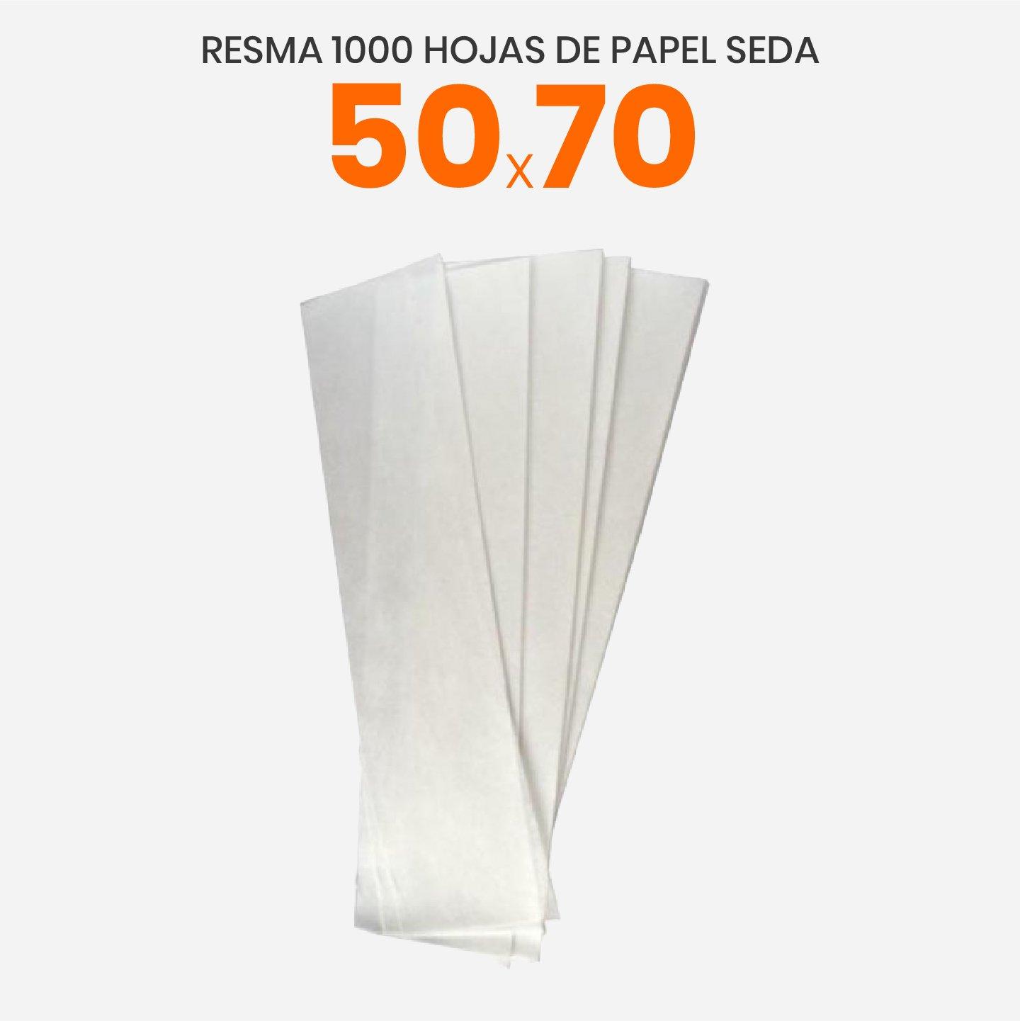Papel de seda blanco 50x70
